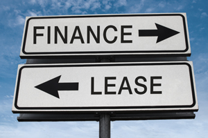 Vehicle financing vs. leasing in the United States